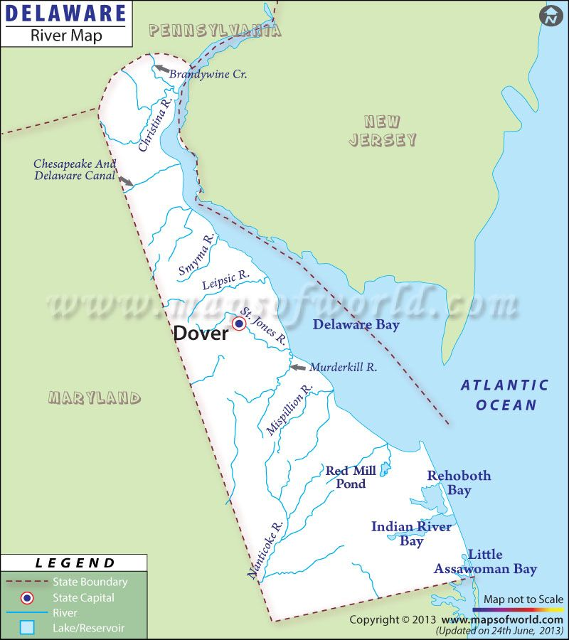 Delaware River Map World Information Pinterest Delaware - Major us rivers map
