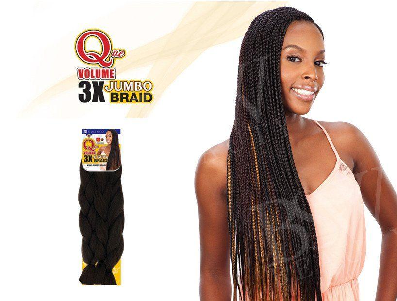 Shake N Go Que Volume 3x Jumbo Braid W Jumbo Braids Braids