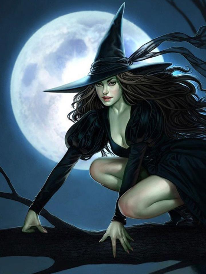 Крутые картинки ведьмы