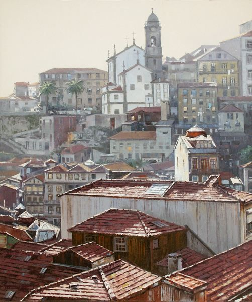 Armando Aguiar - Pintura - Artodyssey Armando Aguiar, nasceu no Porto em 1964. Estudou na escola de artes decorativas Soares do Reis. Iniciou o seu percurso artístico em 1980. Teve como mestre o seu irmão Moreira Aguiar.