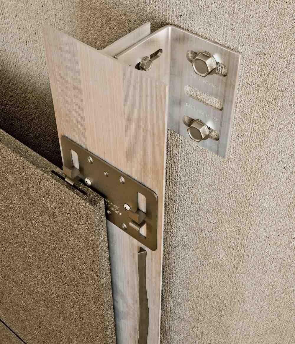 Sistema fachada ventilada 300P SB FIJACIONES Residencial