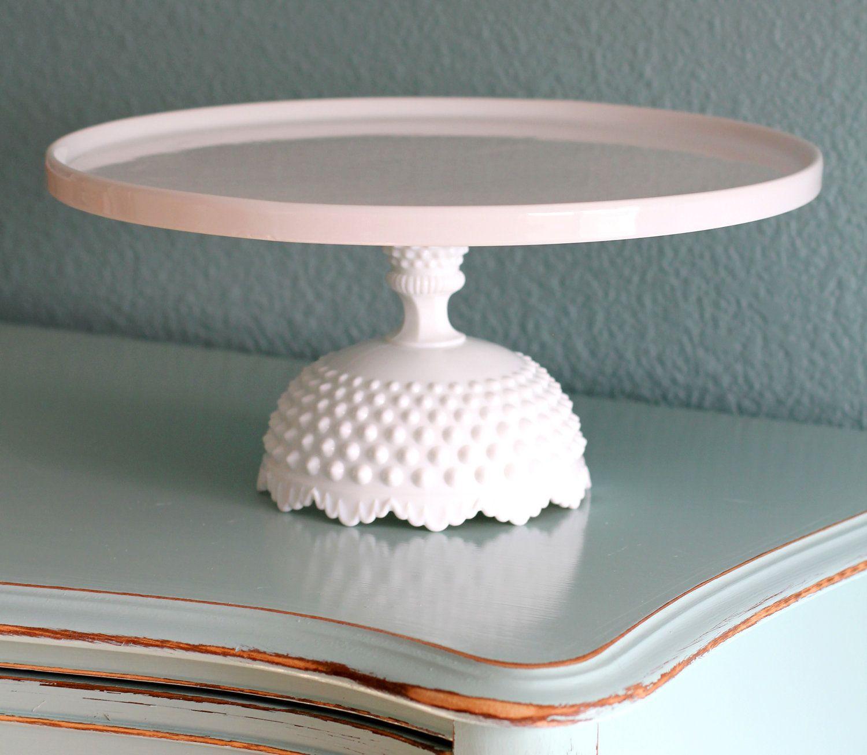 Gray Cake Platter >> 14 Cake Stand Wedding Cake Stand Pedestal White Ceramic Cake