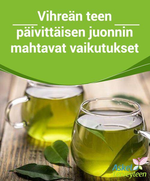 Vihreän Tee Vaikutukset