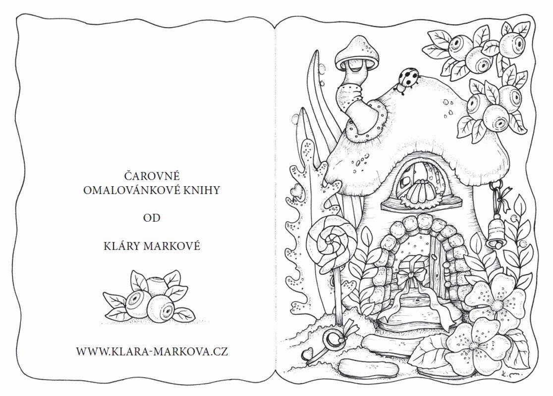 Animal Coloring Book Pdf Beautiful Klara Markova Free Coloring Pages Coloring Books Animal Coloring Books