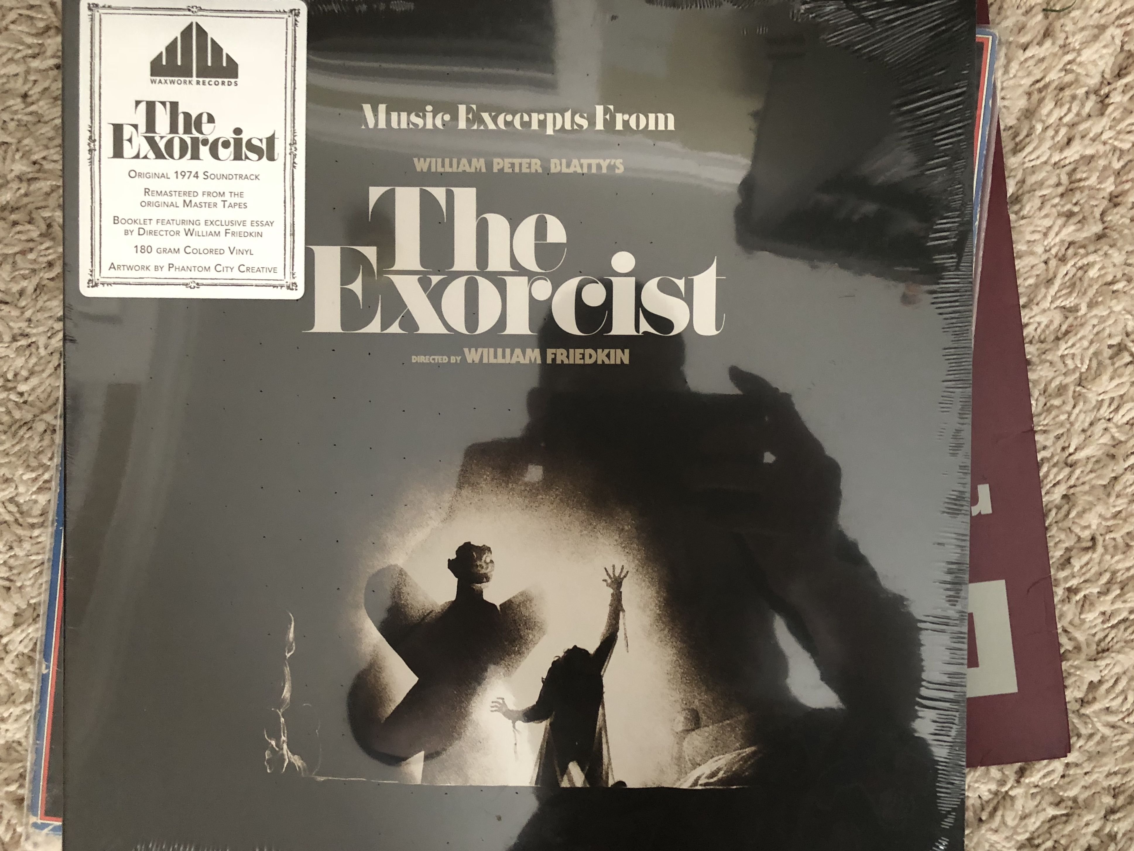 The Exorcist Soundtrack Waxworks Colored Vinyl Vinyl Record Collection Vinyl Vinyl Records