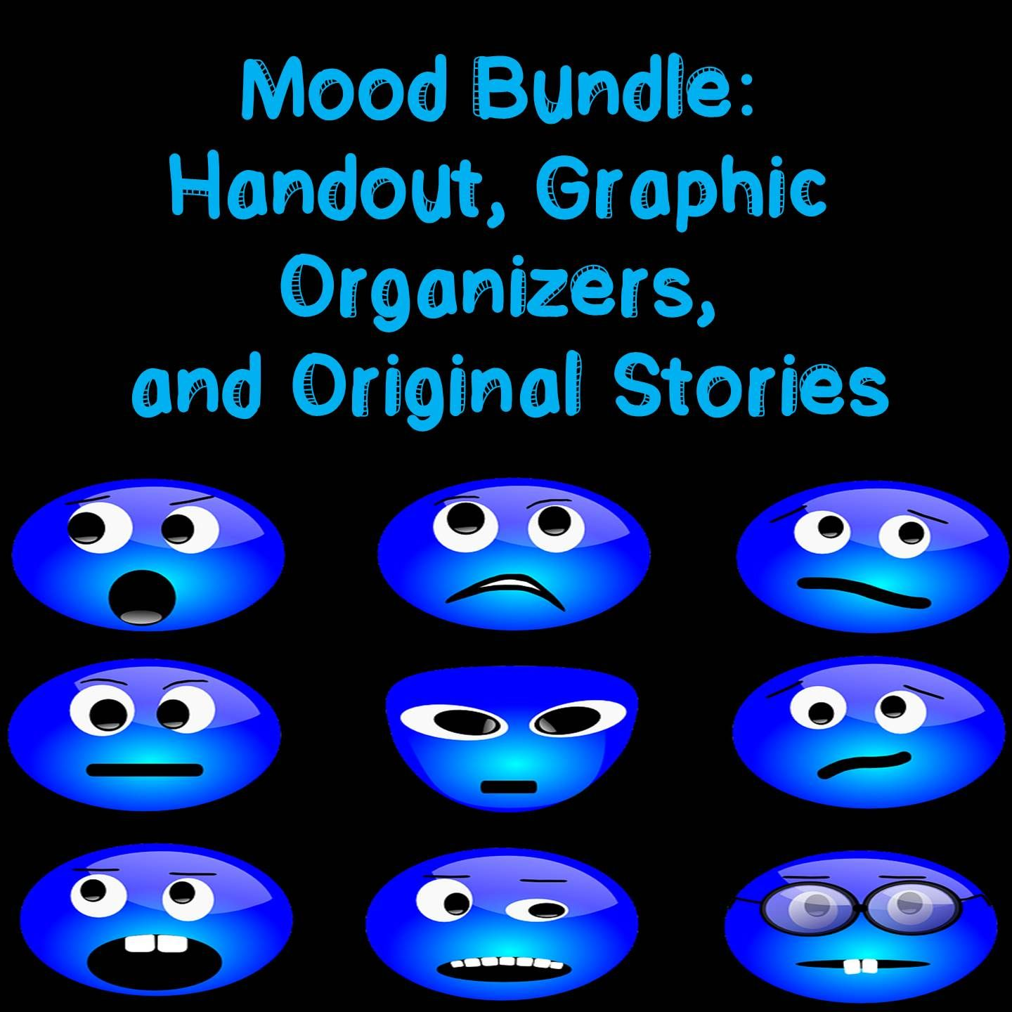 Yzing Mood Bundle Graphic Organizers Handouts