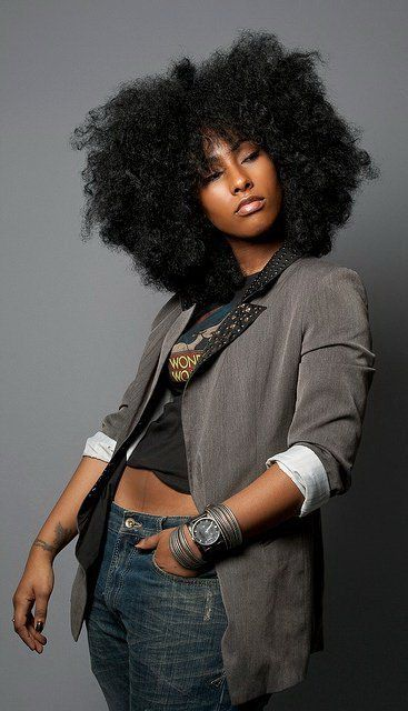 Natural African American Hairstyles Cool Rock Star Hair Big Beautiful Fronatural Hairlongafrican