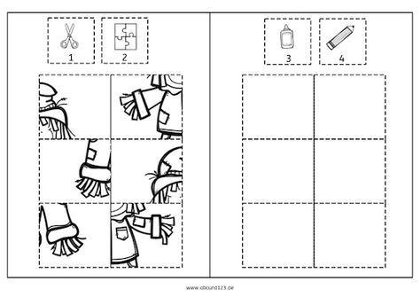 herbstliche puzzles herbst puzzle wahrnehmung feinmotorik aufmerksamkeit legasthenie. Black Bedroom Furniture Sets. Home Design Ideas