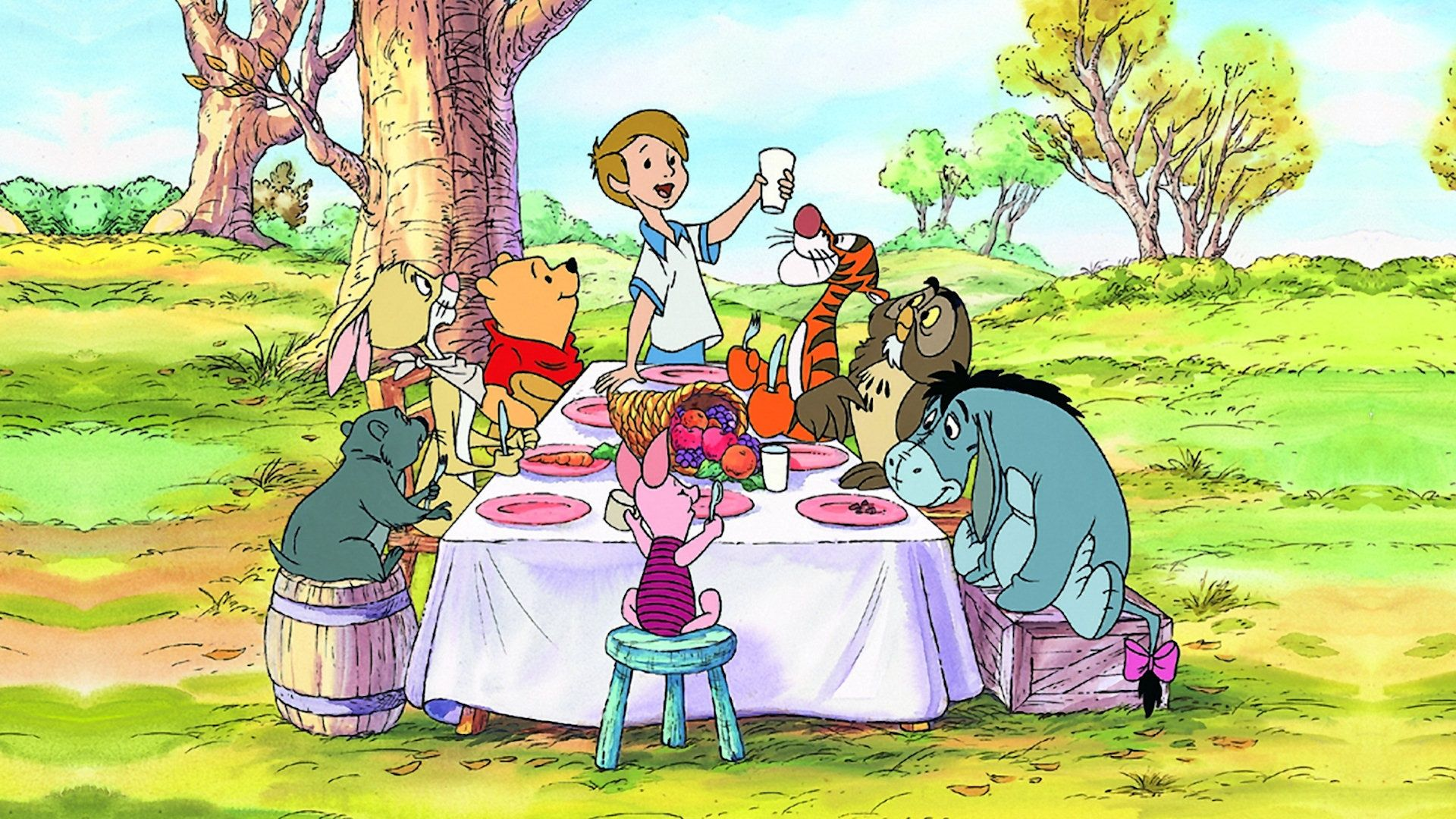 Thanksgiving with Pooh and Friends Winnie the pooh
