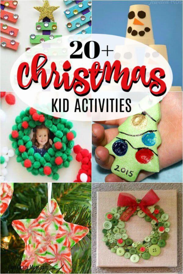 Christmas Activities For Kids 20 Easy Christmas Ideas For Kids In 2020 Christmas Activities For Kids Christmas Activities Christmas Fun