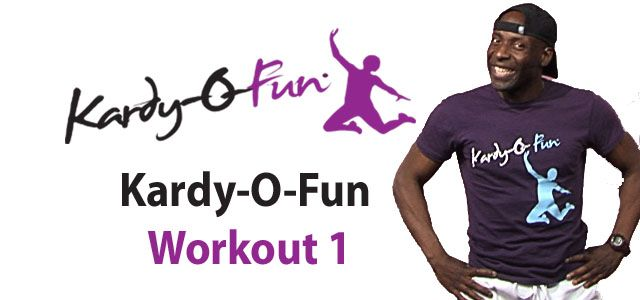 Kardy-O-Fun Workout No.1- the number one fun workout out there with the master of fun and fitness Kardy Laguda
