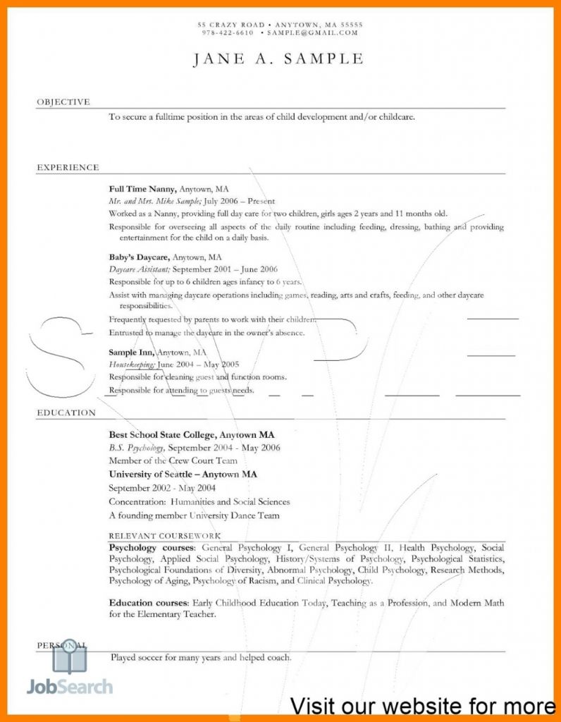 Child care teacher resume 2021 resume template australia