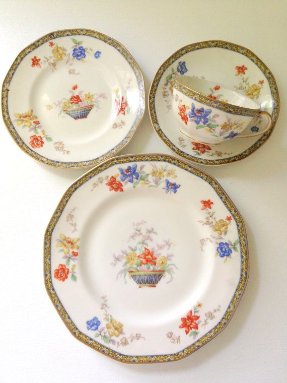 Antique French Limoges Theodore Haviland France Sanga Pattern ...