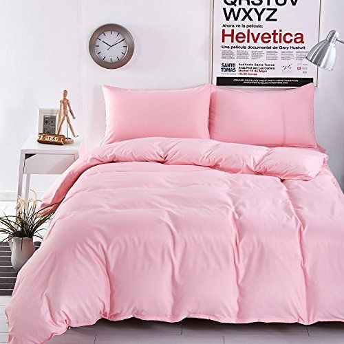 Solid Pink Comforter Great Home Interior And Furniture Design