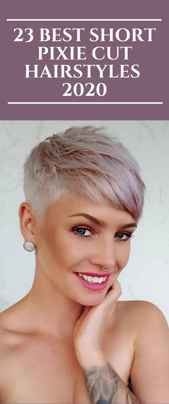 23 Best Short Pixie Cut Hairstyles 2020