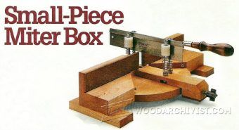 DIY Pull Saw Miter Box - Hand Tools Tips and Techniques - Woodwork, Woodworking, Woodworking Plans, Woodworking Projects