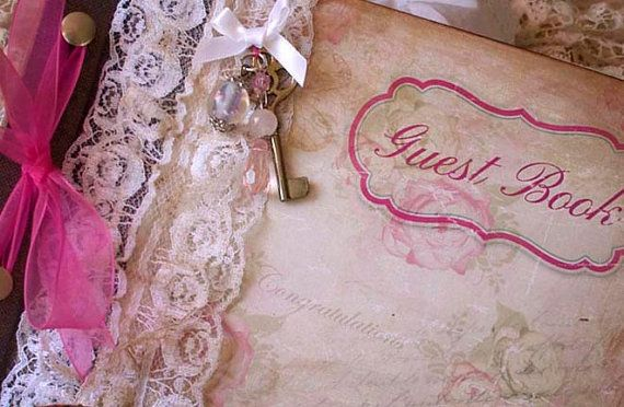 Hen party or bridal shower Guest book  by youruniquescrapbook, £65.00