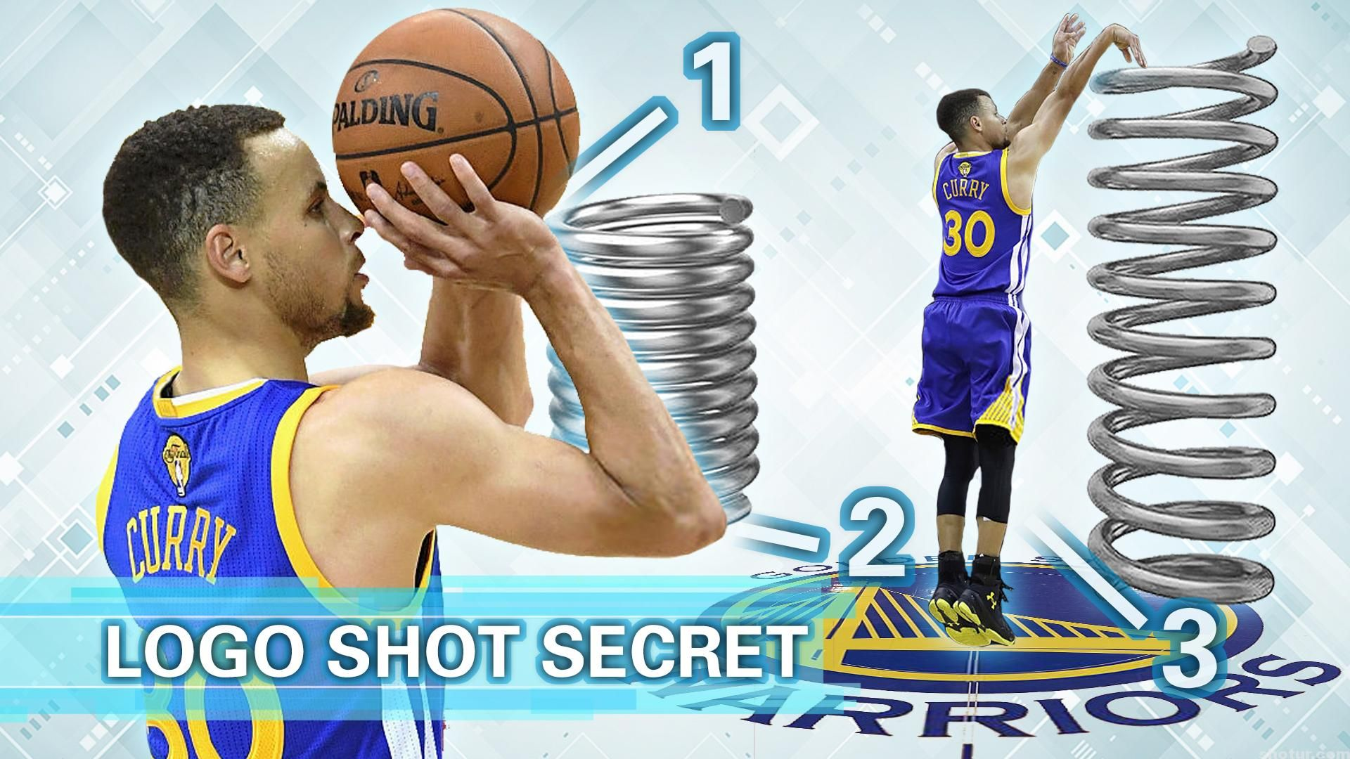 This Post I Will Analyze Stephen Curry S Logo Shot Skills Secret With Spring Force Stephen Cu Stephen Curry Stephen Curry Shooting Form Stephen Curry Shooting