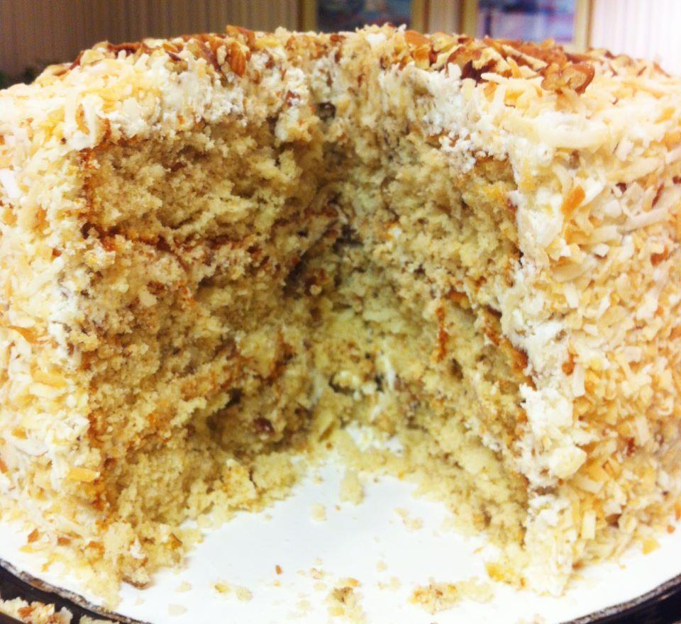 Aunt Tom S Italian Cream Cake
