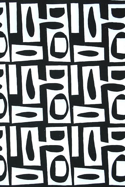 graphic : kuba cloth inspired : textile design #textiledesign