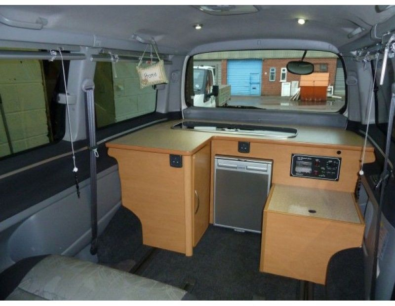 Toyota hiace camper conversion google search toyota for Campervan interior designs