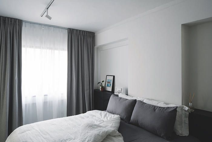 20 Scandinavian Style Hdb Flats And Condos To Inspire You The Singapore Women S Weekly Bedroom Design Woman Bedroom Scandinavian Style
