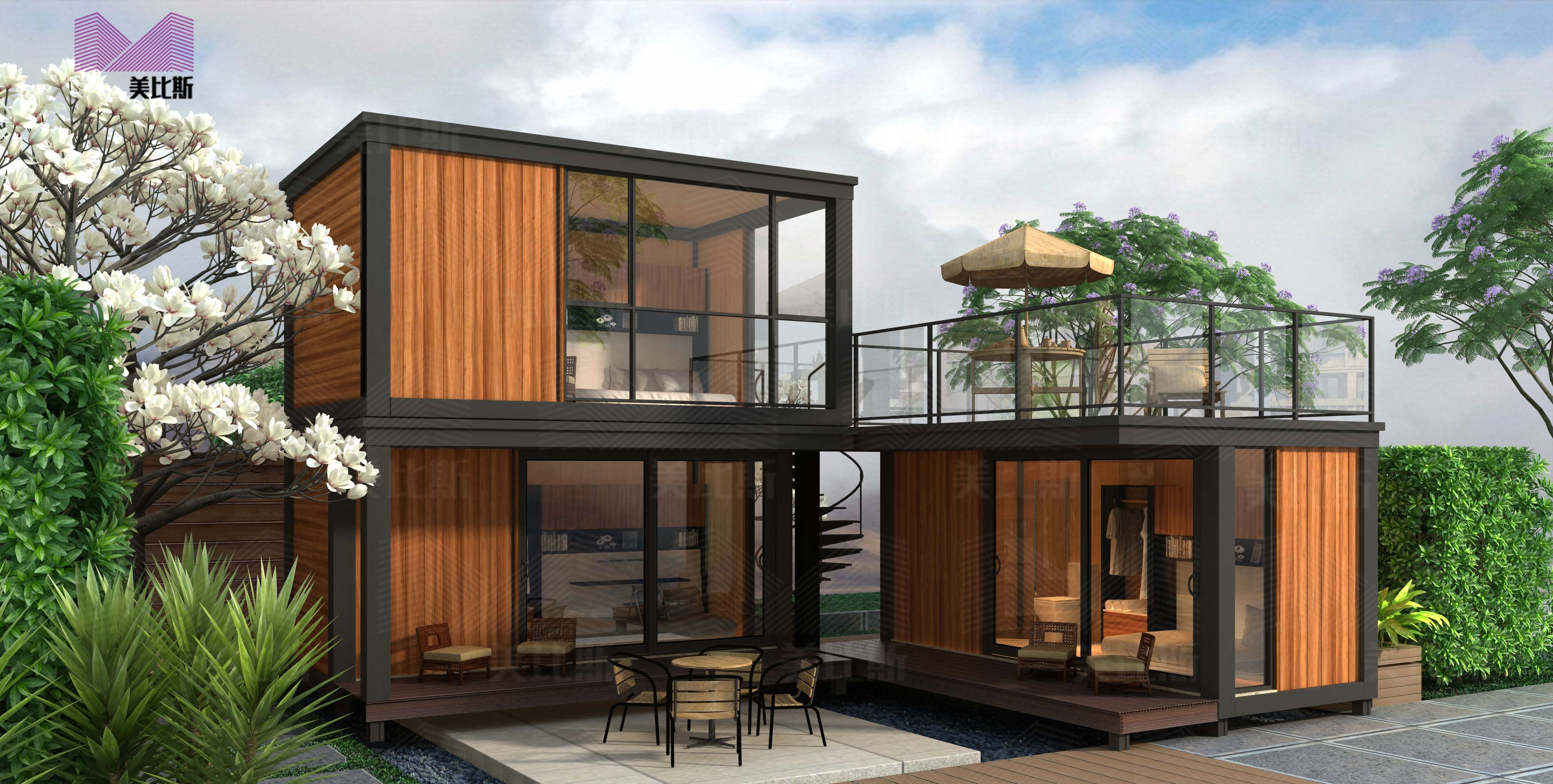 Beautiful Prefab Container Homes European Style China Container