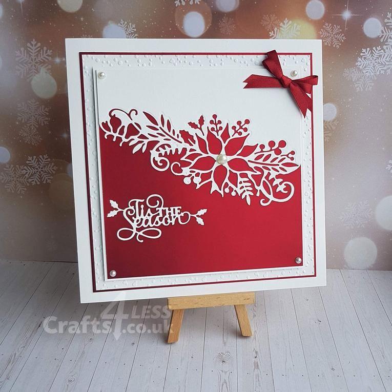 Tis The Season Cricut Christmas Cards Homemade Christmas Cards Diy Christmas Cards