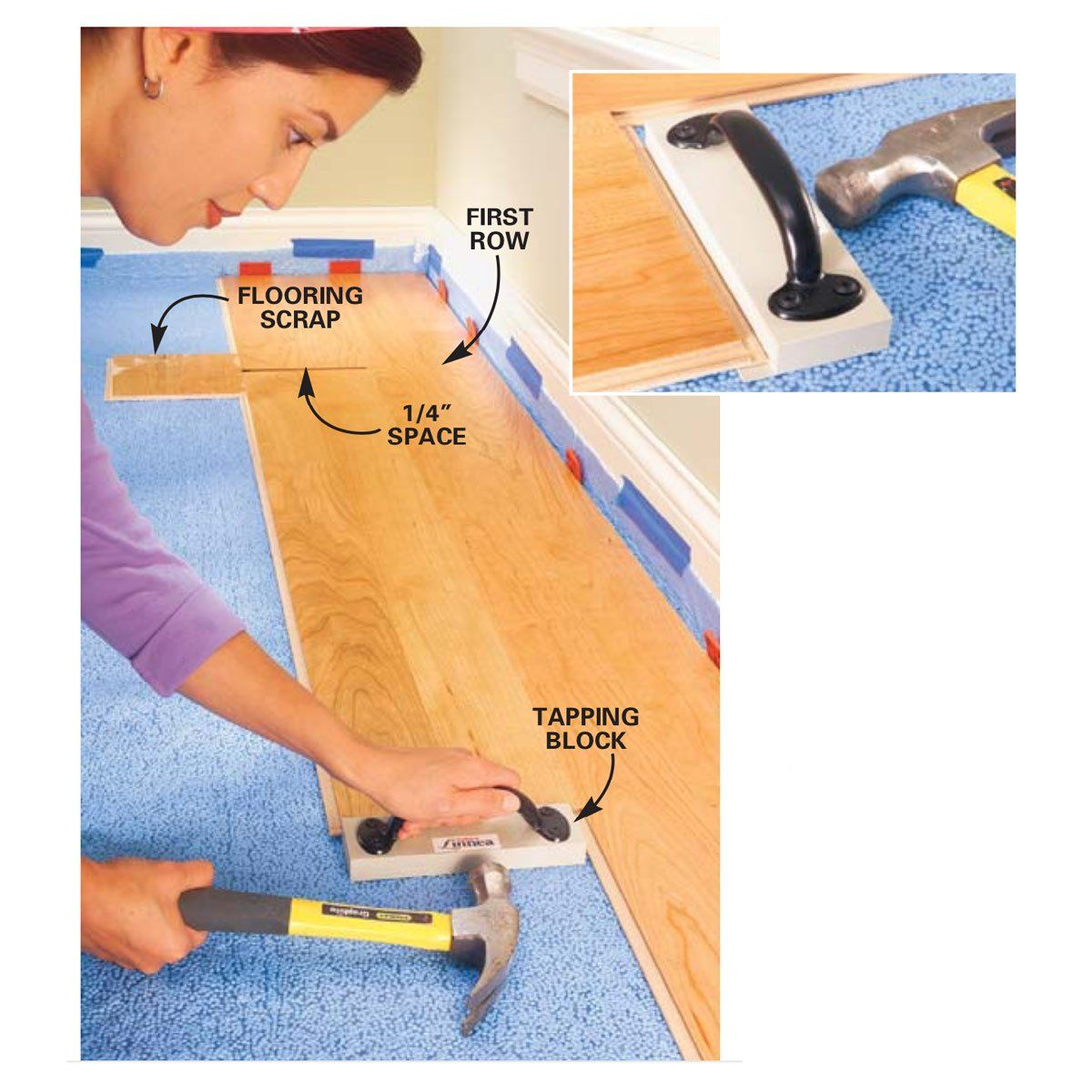 Pin On Installing Laminate Flooring
