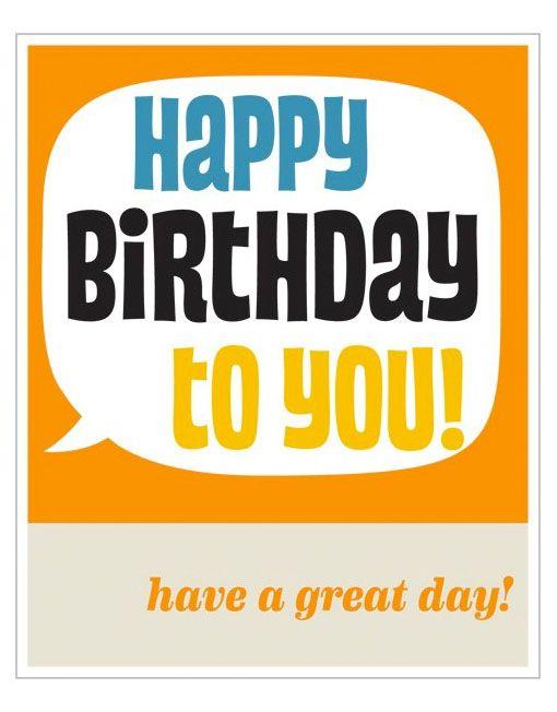 Happy birthday to you birthdays pinterest happy birthday happy birthday to you birthday cards for menyour bookmarktalkfo Choice Image