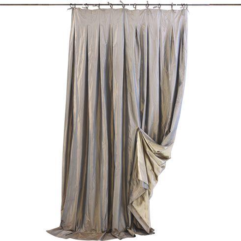 Le Monde Sauvage - Rideau Taffetas de Soie | Tende Rideaux Curtains ...