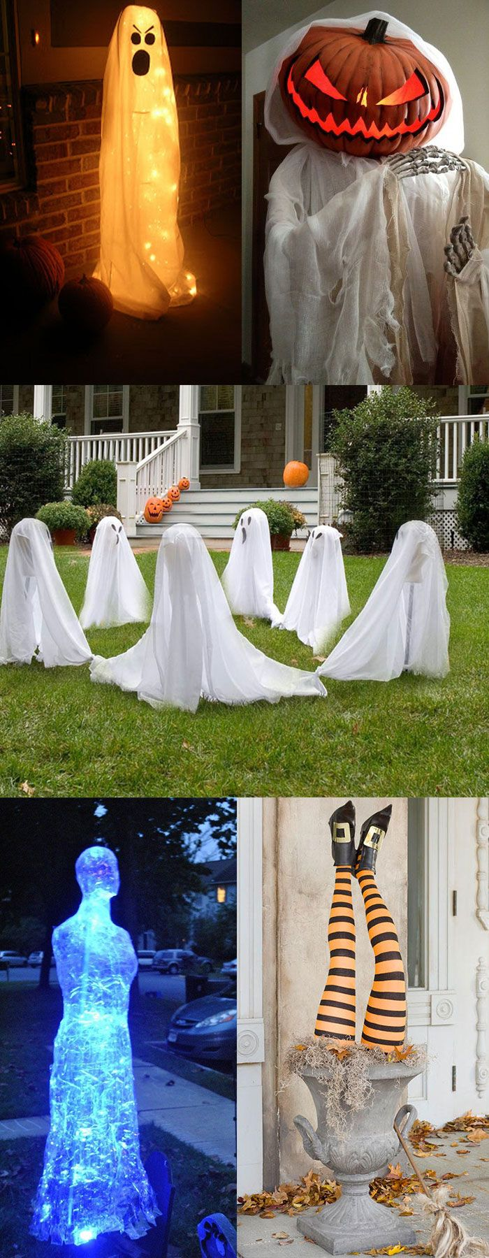 outdoor halloween decoration ideas to spook out your house