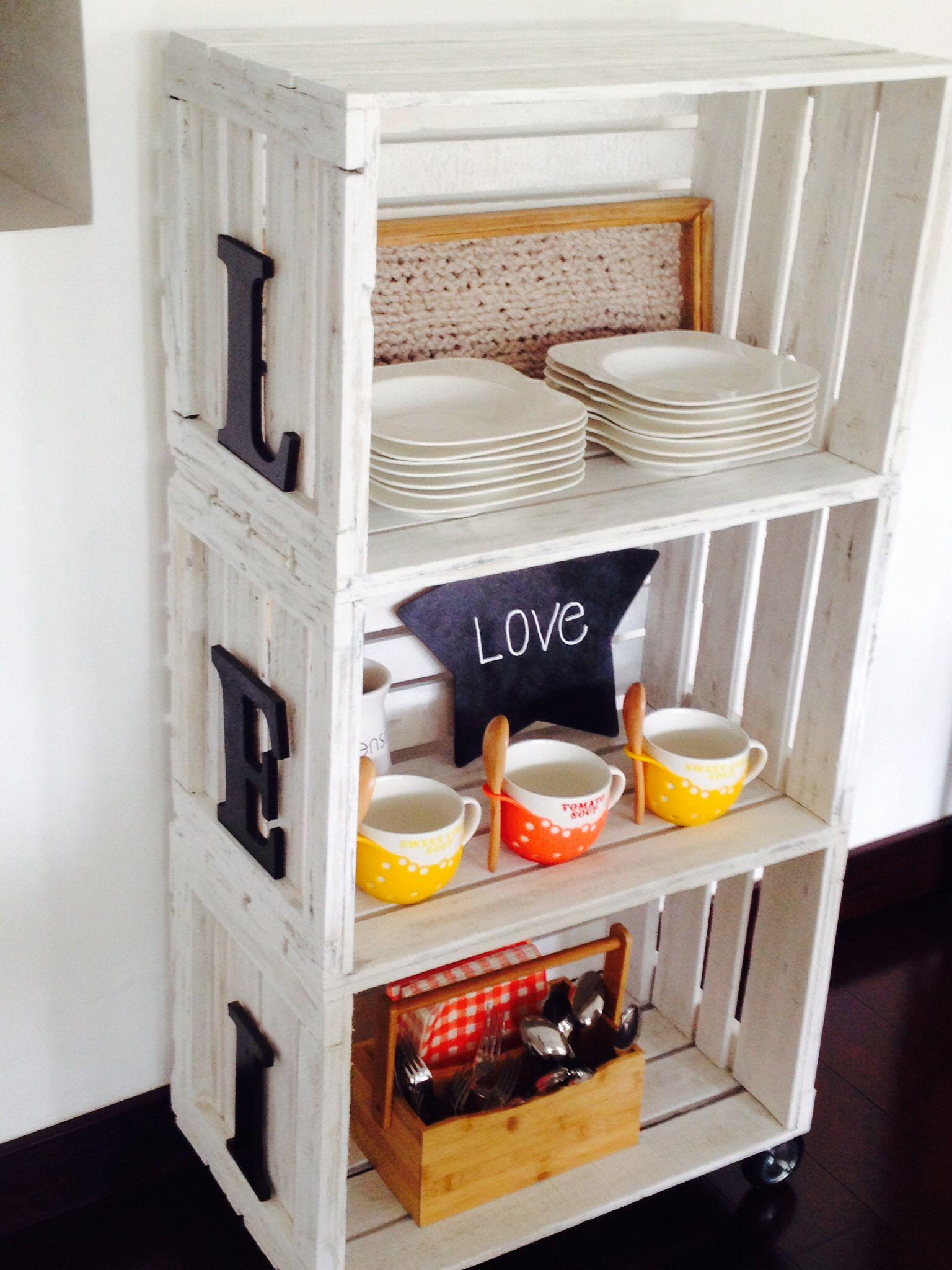 Canastos de frutos | muebles de cocina | Pinterest | Rusticas ...