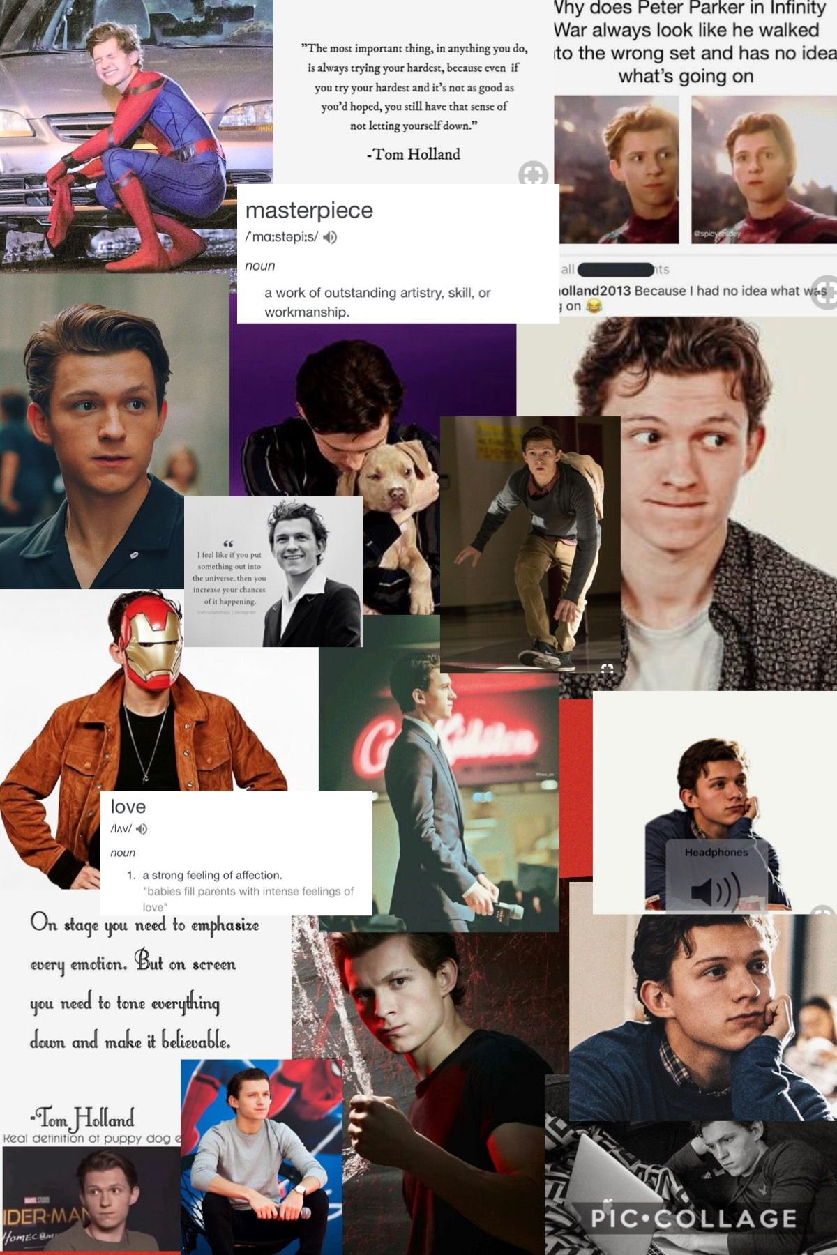 My New Background Very Happy Made It Myself Tom Holland Tom Holland Spiderman Tom Holland Peter Parker