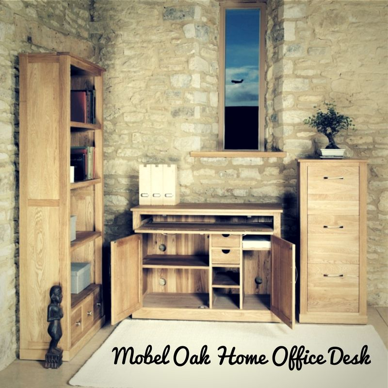 baumhaus mobel solid oak hidden home office. Buy Baumhaus Mobel Oak Hidden Home Office At Stockists Sale Price. Shop For Furniture From CFS UK Or Online \u0026 Free Solid
