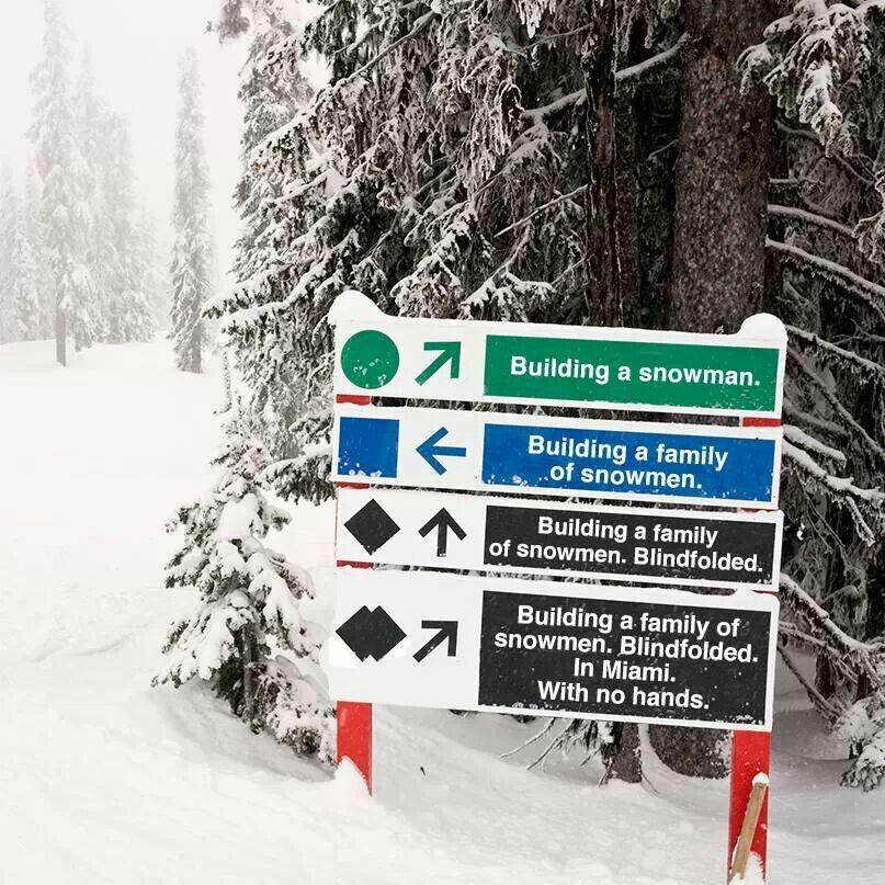 Good translation of ski difficulty haha