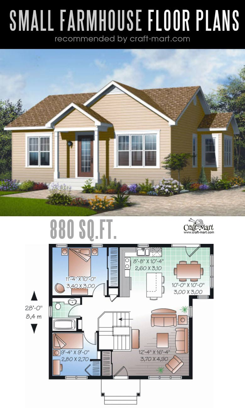 Small Farmhouse Plans For Building A Home Of Your Dreams Craft Mart Farmhouse Plans Small Farmhouse Plans Building A House