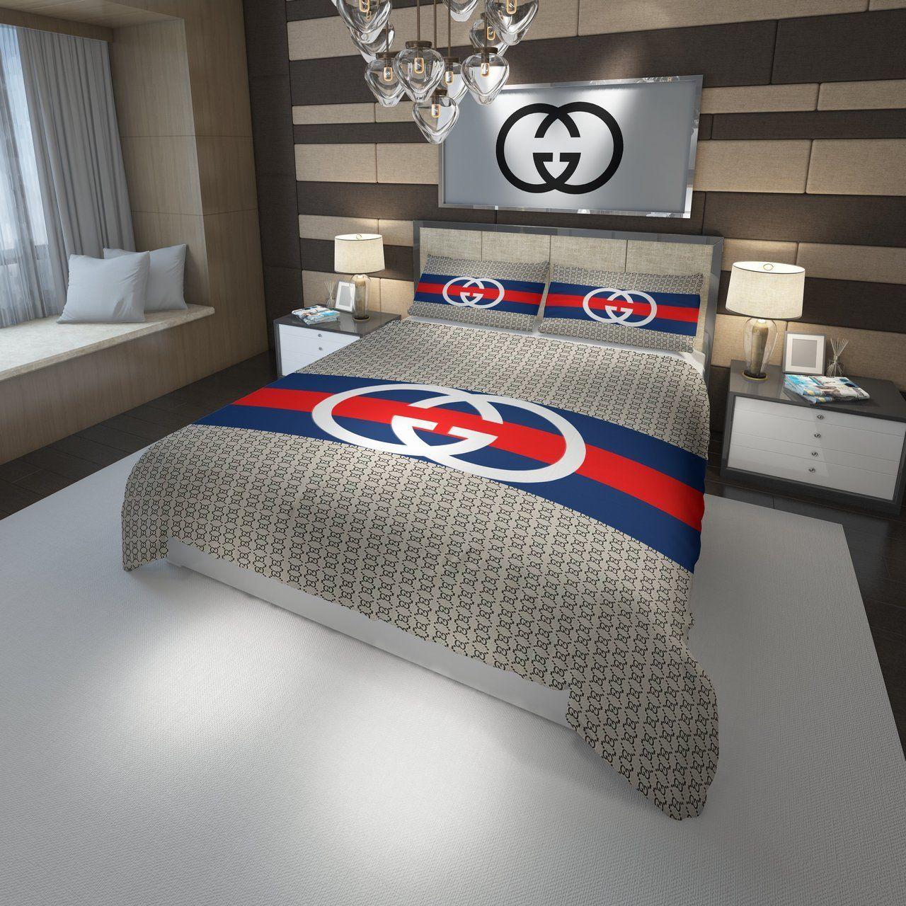Gucci Logo Custom 1 3D Customized Bedding Sets Duvet