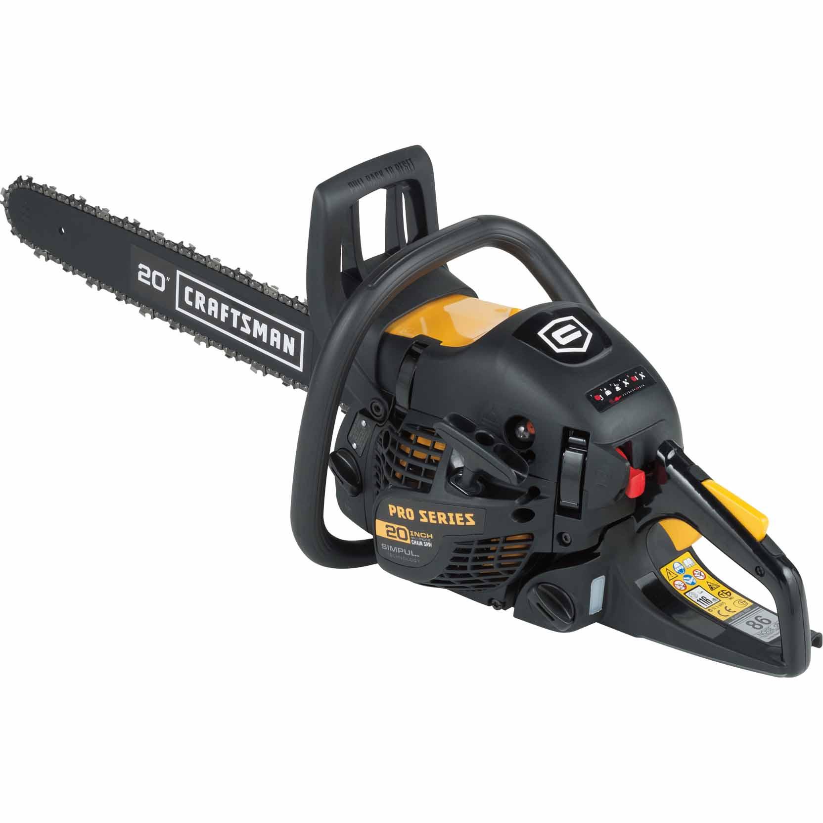 Craftsman Proseries 358382000 20 Gas Chainsaw1646003912 In 2020 Gas Chainsaw Craftsman Chainsaw