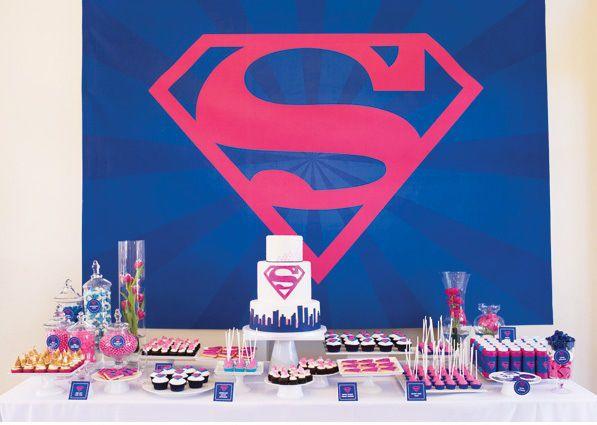 superwoman party theme ideas - Google Search