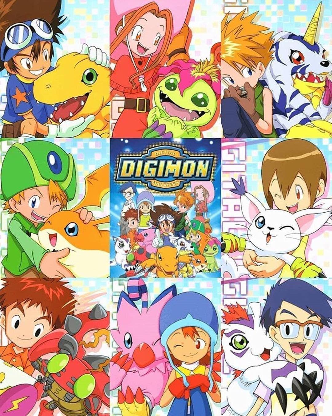 Original Digidestined Digimon Digital Monsters Anime Digimon Wallpaper
