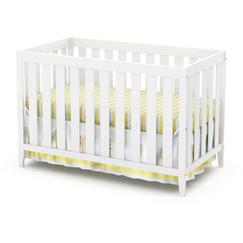 South Shore Cookie Collection Fixed Side Convertible Crib White Nursery Furniture Walmart