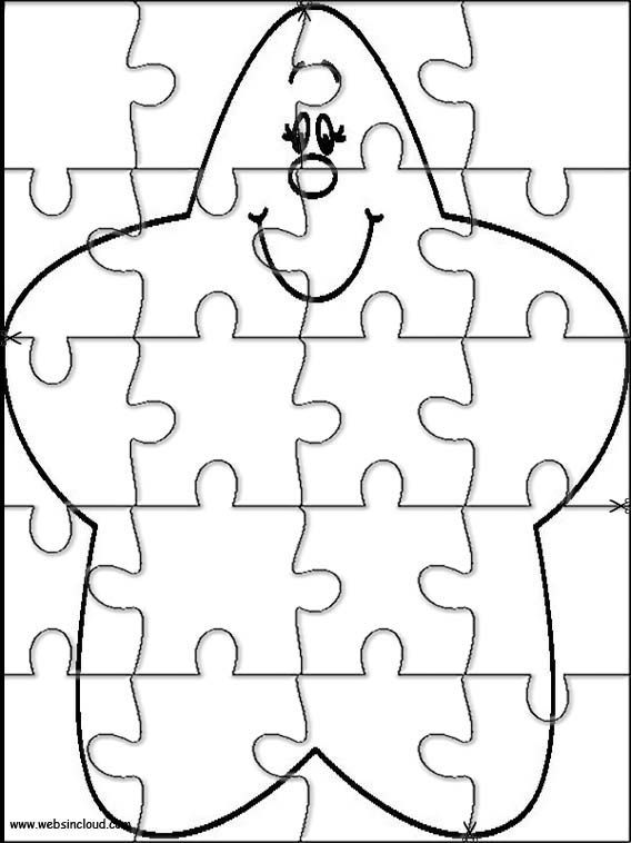 Printable jigsaw puzzles to cut out for kids Space 12 Coloring Pages ...