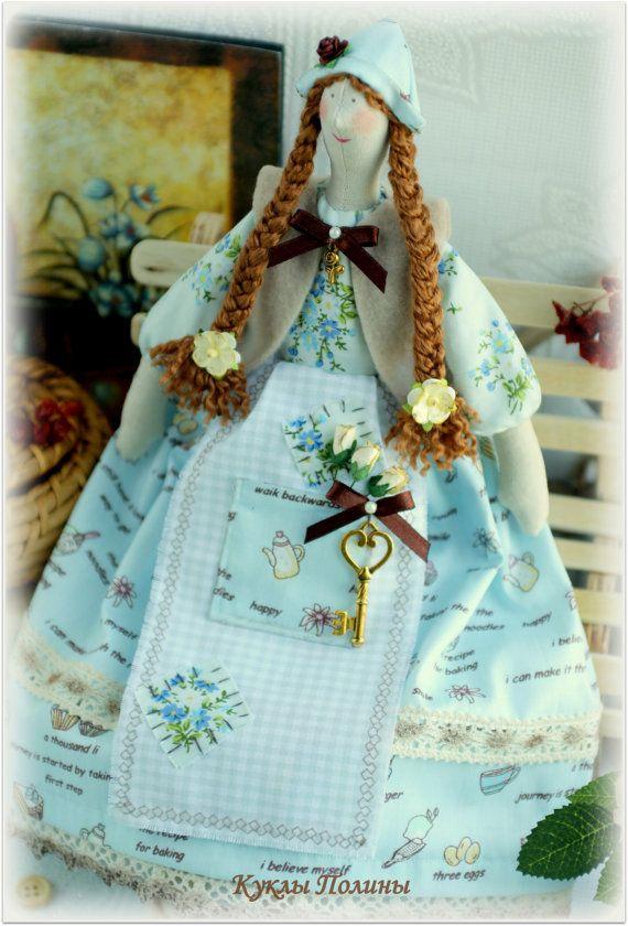 Tissu doux poupée Tilda Housewife chiffon doll par MyShopDolls