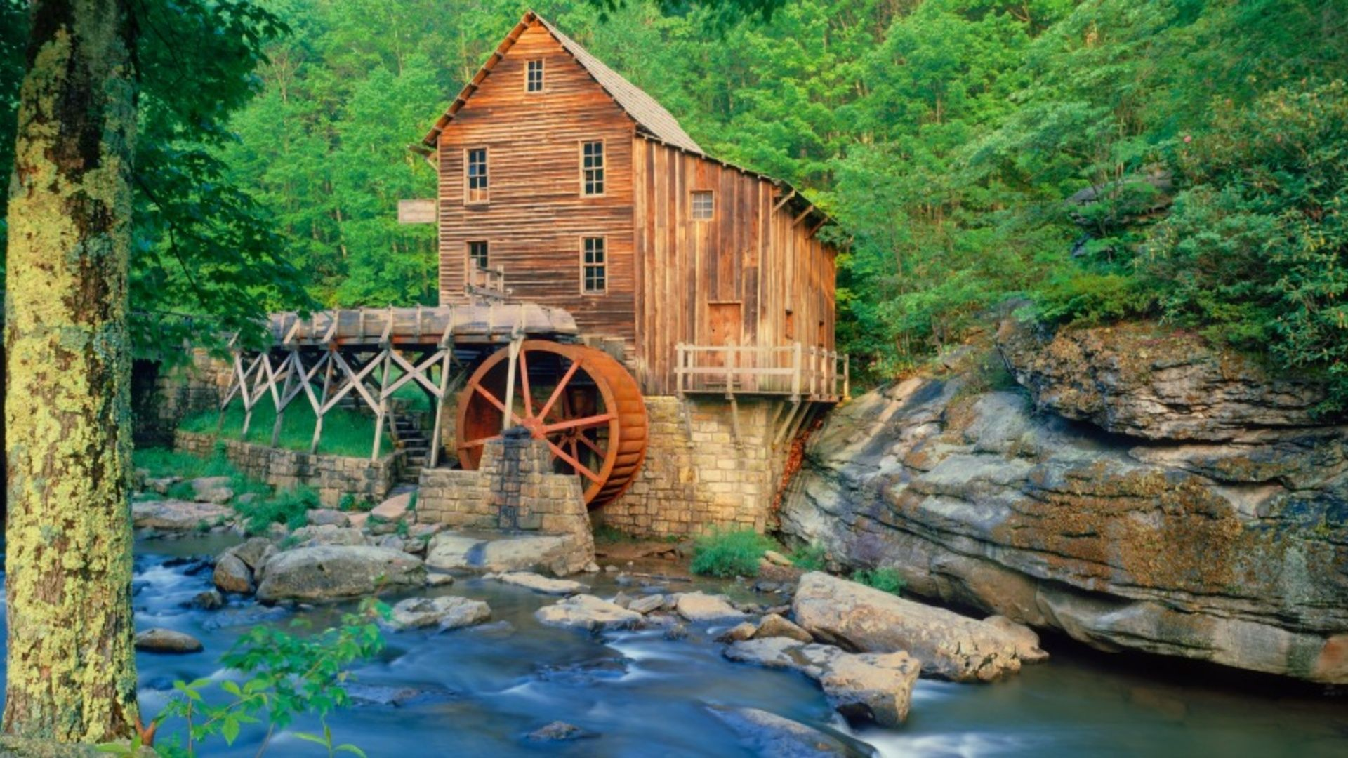 20 Of The Most Beautiful Old Mills In America These Scenic Mills Are A Glimpse Into A Bygone E Video Glade Creek Grist Mill Places Around The World Beautiful Places