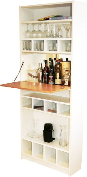 billy bar diy ikea hacks pinterest. Black Bedroom Furniture Sets. Home Design Ideas