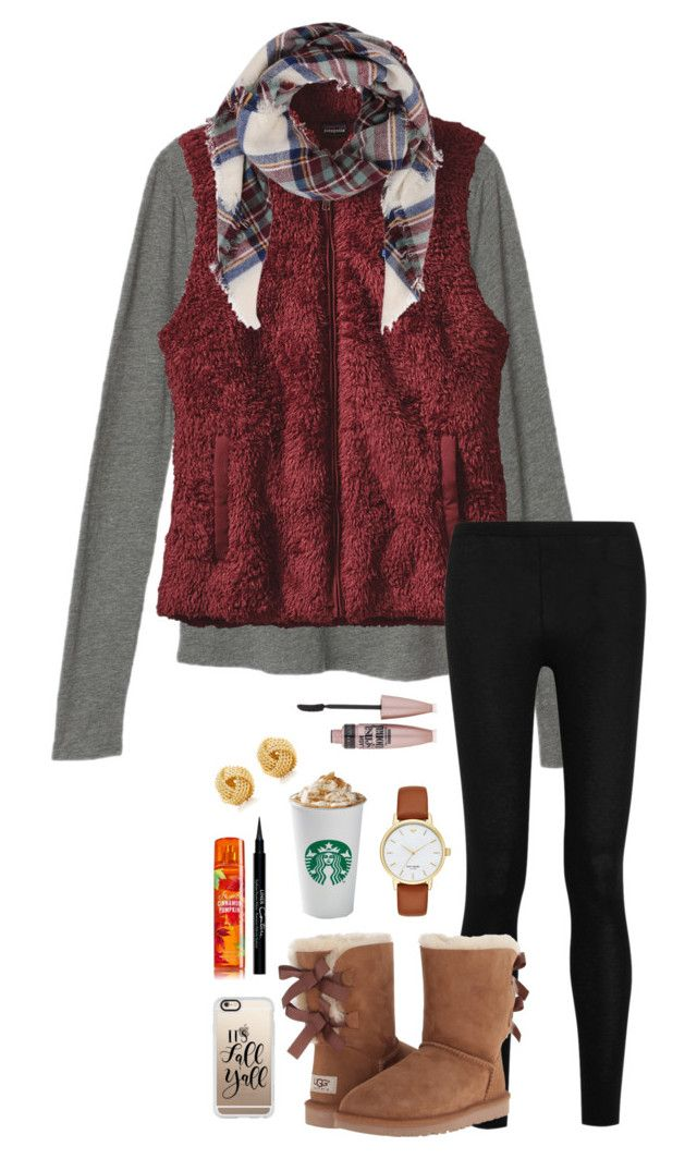 Fall contest!!! RTD by pandapeeper on Polyvore featuring Victoria's Secret, Patagonia, Donna Karan, UGG, Kate Spade, Tiffany & Co., Armitage Avenue, Casetify, Maybelline and Givenchy