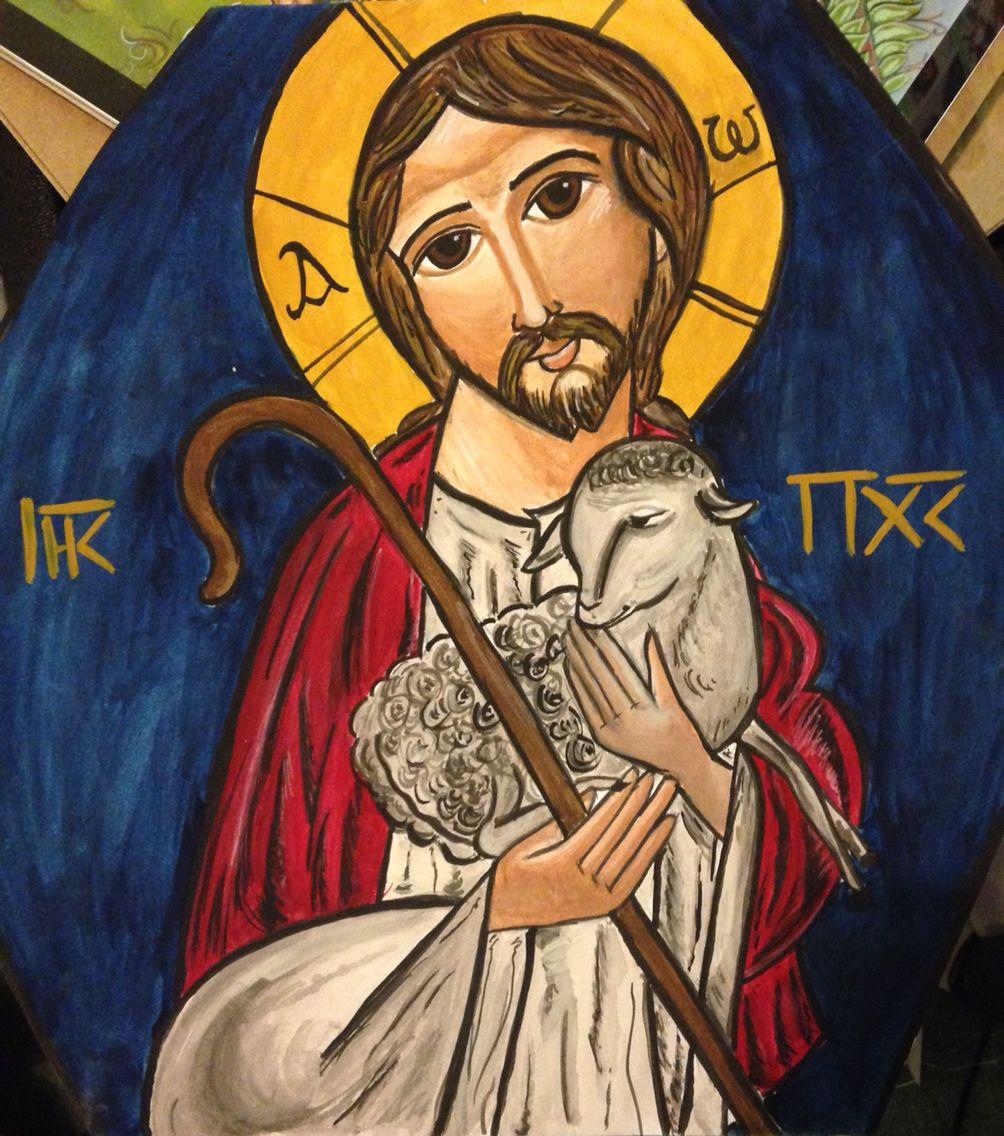 Good shepherd funeral home rome ga - Jesus Good Shepherd Coptic Icon Watercolours
