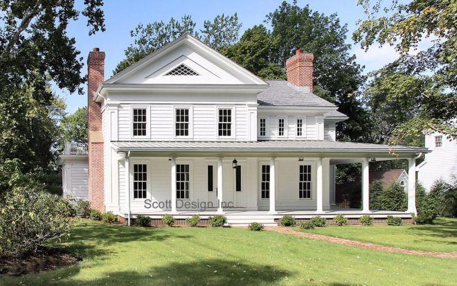 This Quaint New England Farmhouse Was Originally Built In