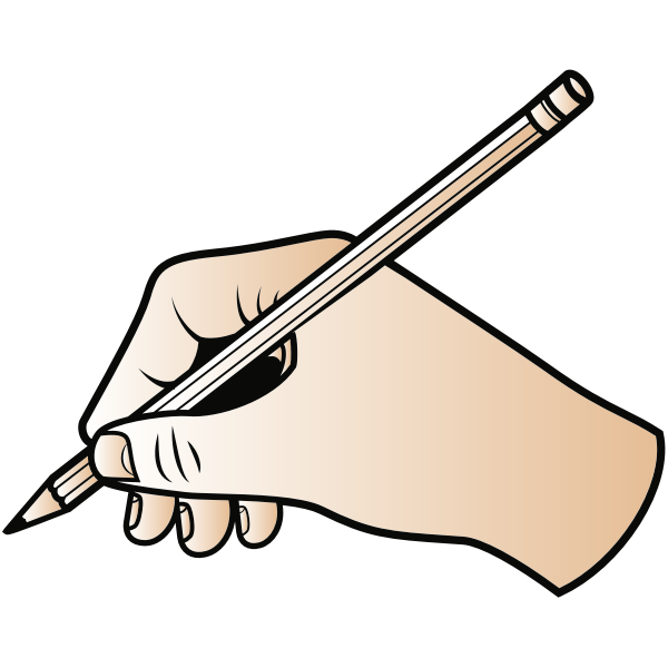 Writing With Pencil Free Clip Art Pencil Writing